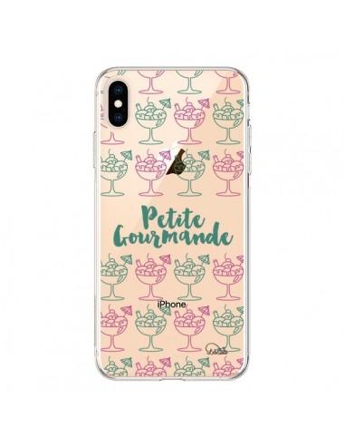 Coque iPhone XS Max Petite Gourmande Glaces Ete Transparente souple - Lolo Santo