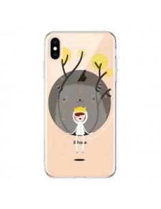 Coque iPhone XS Max Monstre Princesse Transparente souple - Maria Jose Da Luz