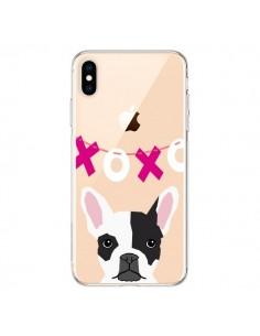 Coque iPhone XS Max Bulldog Français XoXo Chien Transparente souple - Pet Friendly