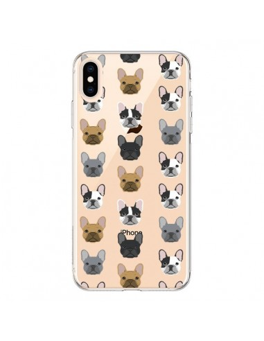 Coque iPhone XS Max Chiens Bulldog Français Transparente souple - Pet Friendly