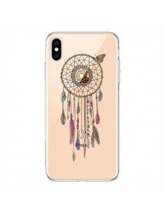Coque iPhone XS Max Attrape-rêves Lakota Transparente souple - Rachel Caldwell