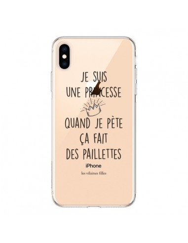 coque iphone xs paillette
