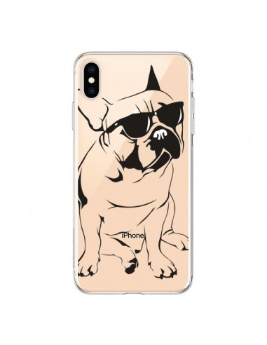 Coque iPhone XS Max Chien Bulldog Dog Transparente souple - Yohan B.