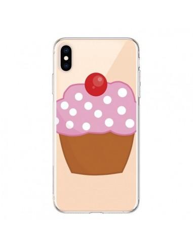 Coque iPhone XS Max Cupcake Cerise Transparente souple - Yohan B.