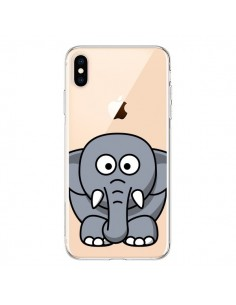 Coque iPhone XS Max Elephant Animal Transparente souple - Yohan B.