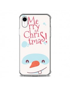 Coque iPhone XR Bonhomme de Neige Merry Christmas Noël - Nico