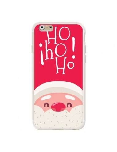 Coque iPhone 6 et 6S Père Noël Oh Oh Oh Rouge - Nico