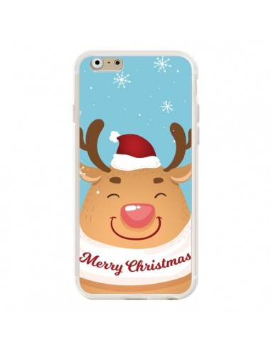 Coque iPhone 6 et 6S Renne de Noël Merry Christmas - Nico
