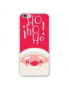 Coque iPhone 6 Plus et 6S Plus Père Noël Oh Oh Oh Rouge - Nico