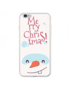 Coque iPhone 6 Plus et 6S Plus Bonhomme de Neige Merry Christmas Noël - Nico