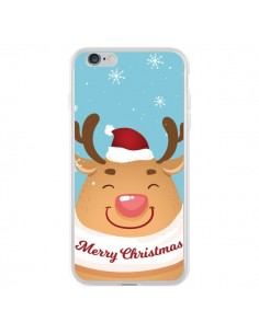 Coque iPhone 6 Plus et 6S Plus Renne de Noël Merry Christmas - Nico