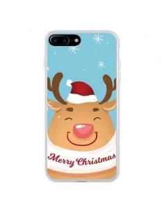 Coque iPhone 7 Plus et 8 Plus Renne de Noël Merry Christmas - Nico
