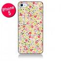 Coque iPhone 5/5S et SE Liberty Fleurs - Nico