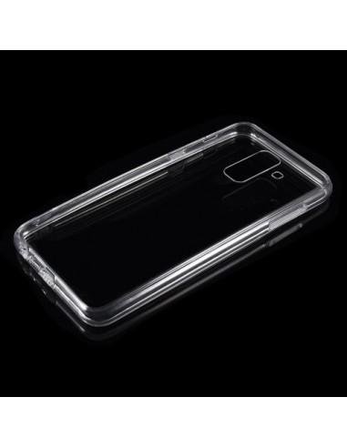 Coque Samsung Galaxy A6 Plus Transparente en silicone semi-rigide TPU