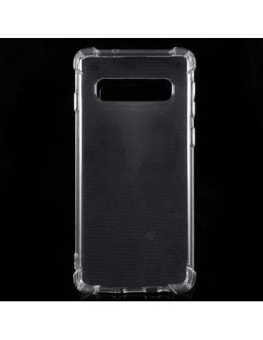 Coque Samsung Galaxy S10 Transparente en silicone semi-rigide TPU
