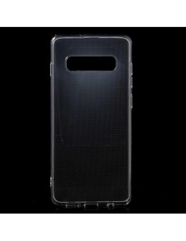 Coque Samsung Galaxy S10 Plus Transparente en silicone semi-rigide TPU