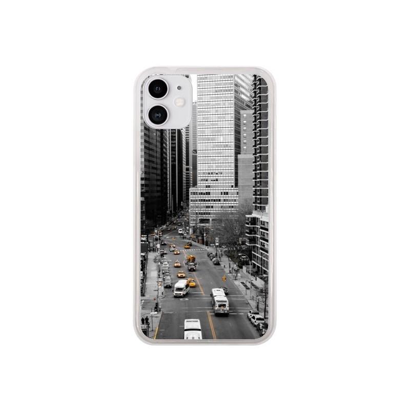 Coque iPhone 11 New York Noir et Blanc - Anaëlle François