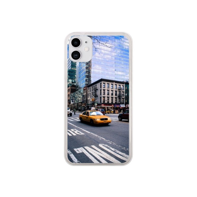 Coque iPhone 11 New York Taxi - Anaëlle François