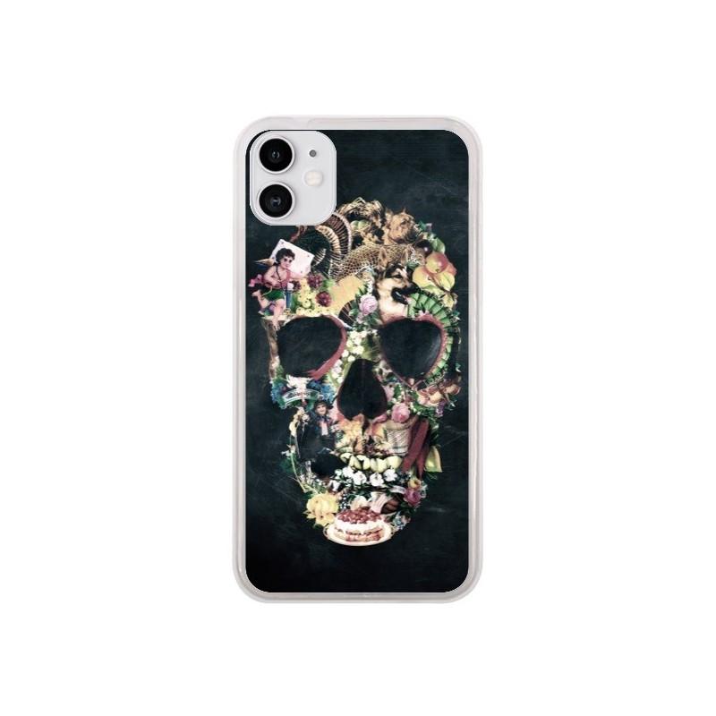 Coque iPhone 11 Skull Vintage Tête de Mort - Ali Gulec