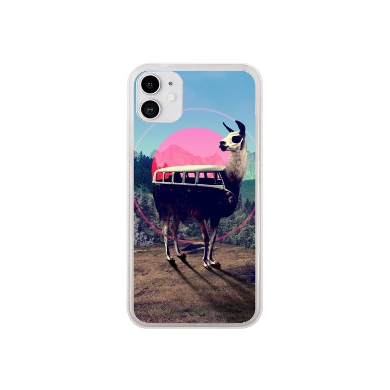 Coque iPhone 11 Llama - Ali Gulec