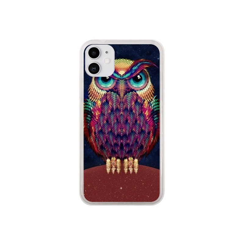 Coque iPhone 11 Chouette Owl - Ali Gulec