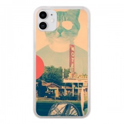 Coque iPhone 11 Chat Fashion The Cat - Ali Gulec