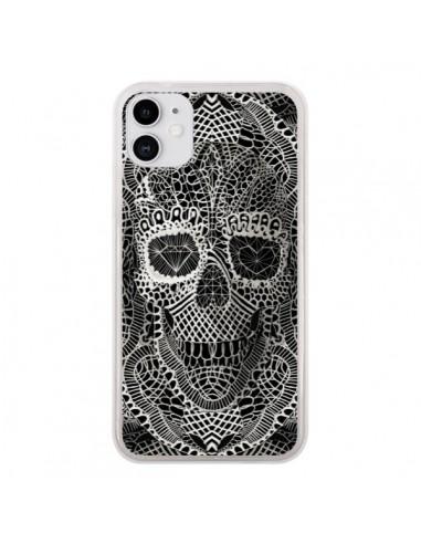 Coque iPhone 11 Skull Lace Tête de Mort - Ali Gulec