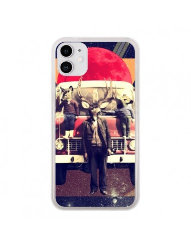 Coque iPhone 11 Cerf Le Camion - Ali Gulec