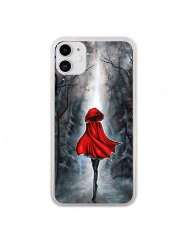 Coque iPhone 11 Le Petit Chaperon Rouge Bois - Annya Kai