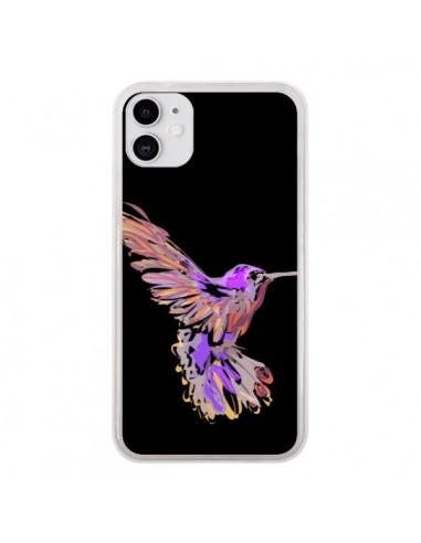 Coque iPhone 11 Blue Bird - AlekSia