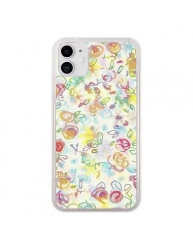 Coque iPhone 11 Primavera Fleurs - AlekSia