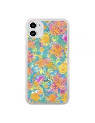 Coque iPhone 11 Printemps Fleurs - AlekSia