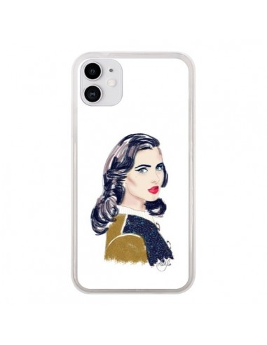 Coque iPhone 11 Retro Femme - AlekSia