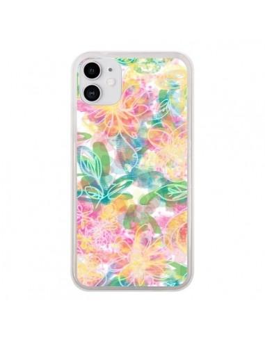 Coque iPhone 11 Spring Fleurs - AlekSia