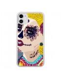 Coque iPhone 11 Sugar Skull Tête de Mort - AlekSia
