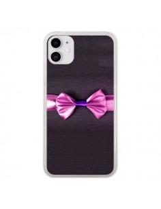 Coque iPhone 11 Noeud Papillon Kitty Bow Tie - Asano Yamazaki