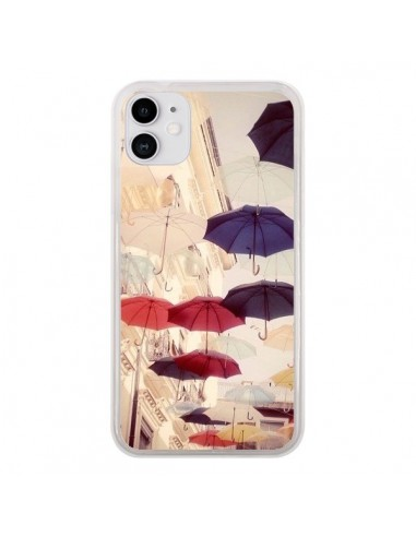 Coque iPhone 11 Parapluie Under my Umbrella - Asano Yamazaki