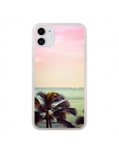 Coque iPhone 11 Sunset Palmier Palmtree - Asano Yamazaki