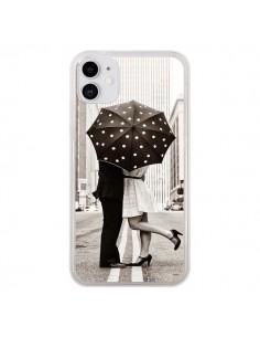 Coque iPhone 11 Secret under Umbrella Amour Couple Love - Asano Yamazaki