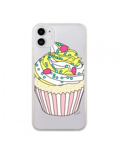 Coque iPhone 11 Cupcake Dessert Transparente - Asano Yamazaki