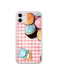 Coque iPhone 11 Petit Dejeuner Cupcakes - Benoit Bargeton