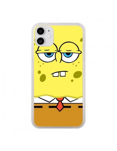 Coque iPhone 11 Bob l'Eponge Sponge Bob - Bertrand Carriere