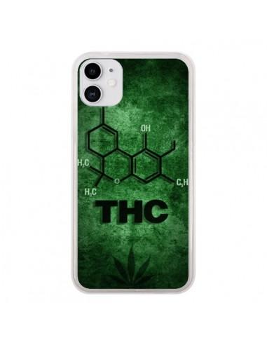 Coque iPhone 11 THC Molécule - Bertrand Carriere