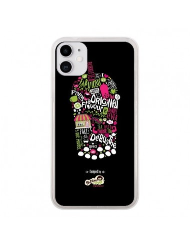 Coque iPhone 11 Bubble Fever Original Flavour Noir - Bubble Fever