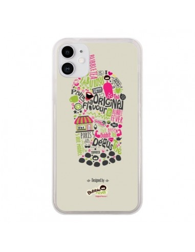 Coque iPhone 11 Bubble Fever Original Flavour Beige - Bubble Fever
