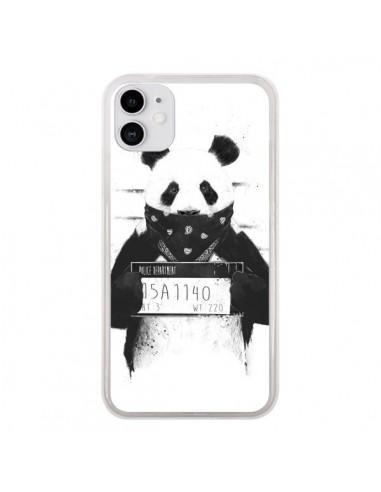 Coque iPhone 11 Bad Panda Prison - Balazs Solti
