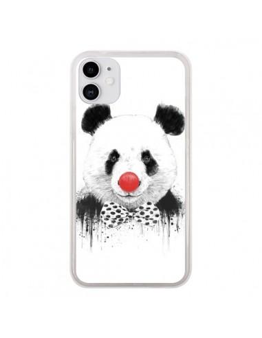 Coque iPhone 11 Clown Panda - Balazs Solti