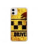 Coque iPhone 11 Driver Taxi - Brozart