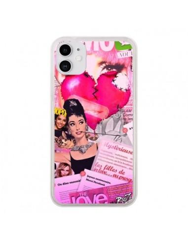 Coque iPhone 11 Glamour Magazine - Brozart