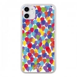 Coque iPhone 11 Ballons La Haut - Enilec